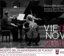 17 listopada 2017. Koncert charytatywny z okazji 45 rocznicy PLACEAT.