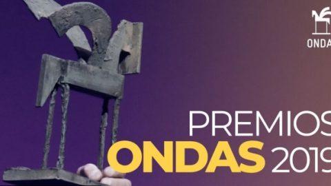 14 de noviembre de 2019. Premios Ondas 2019. Actuación junto a Ainhoa Arteta.